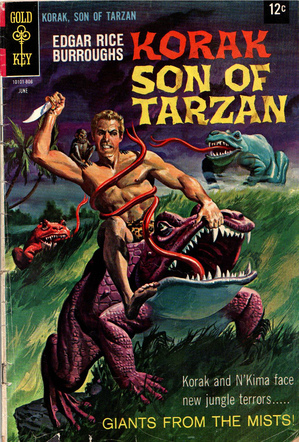 Korak Son of Tarzan (1964 Gold Key/DC) comic books.